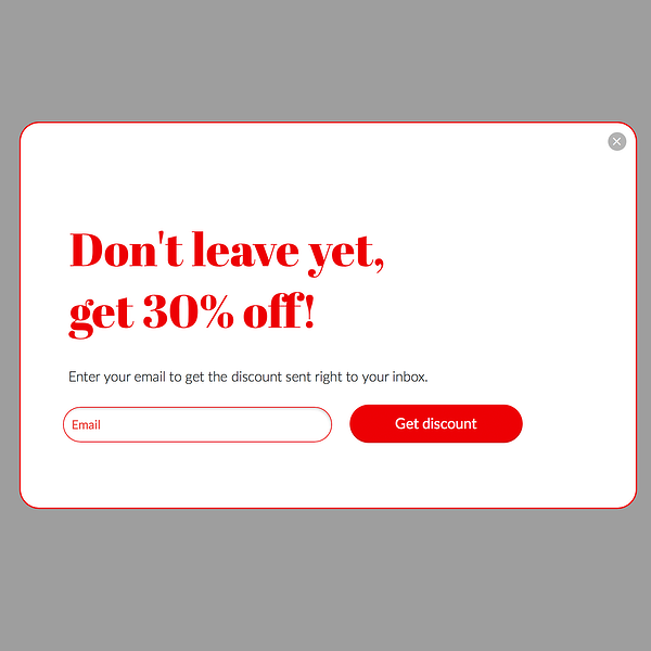 don't let your customer leave