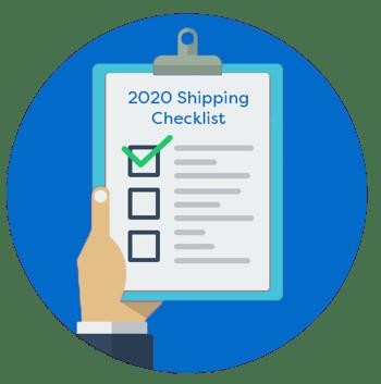 Shipping Checklist EHUB blue