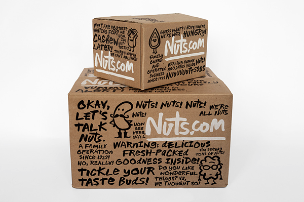 Nuts.com crazy packaging